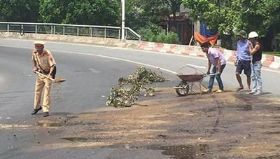 Việc làm đẹp của cảnh sát giao thông Hà Nội