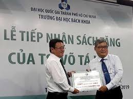 Việt kiều tặng sách trị giá 3,4 tỷ đồng