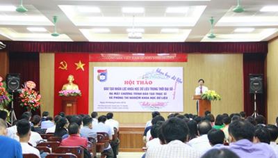 Việt Nam chính thức đào tạo thạc sĩ chuyên ngành Khoa học dữ liệu