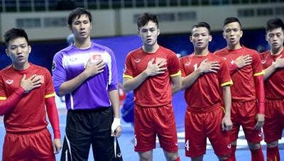 Việt Nam gặp Nga ở vòng 16 đội World Cup Futsal 2016