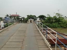 Xây cầu vĩnh cửu thay thế cầu phao Sông Hóa (Hải Phòng)