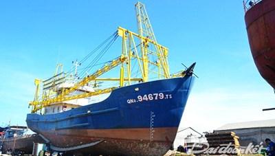 Xử vụ ngư dân kiện doanh nghiệp đóng tàu 67