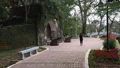 Yêu cầu dừng thi công trùng tu Thành cổ Sơn Tây