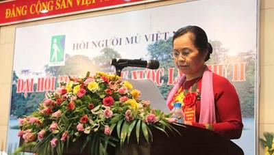 Đại hội Hội Người mù Việt Nam: Những người tàn nhưng không phế