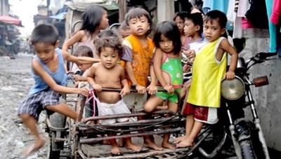 Hơn 13 triệu trẻ em ở Philippines sống trong nghèo đói