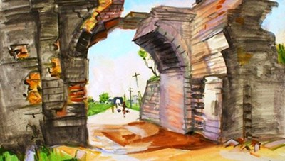 Ký họa của Trần Văn Cẩn thu hút công chúng