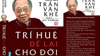 Tái bản lần thứ 6 tự truyện của cố Giáo sư Trần Văn Khê