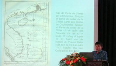 Thư tịch và bản đồ cổ nước ngoài chứng minh chủ quyền của Việt Nam đối với hai quần đảo Hoàng Sa, Trường Sa