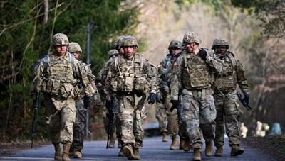 Mỹ chuẩn bị điều hàng trăm binh sỹ tới Đức tham gia tập trận