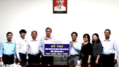 Trung tâm kiểm soát bệnh tật Cần Thơ tiếp nhận 500 triệu hỗ trợ từ Genco 2