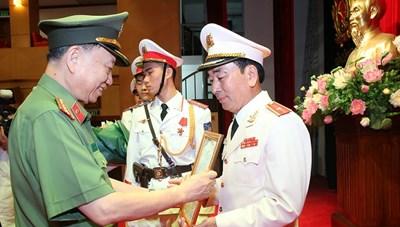 Công bố quyết định bổ nhiệm ông Trần Quốc Tỏ làm Thứ trưởng Bộ Công an