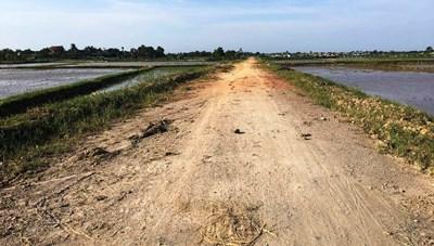 Thanh Hóa: Dang dở một dự án nâng cấp đường