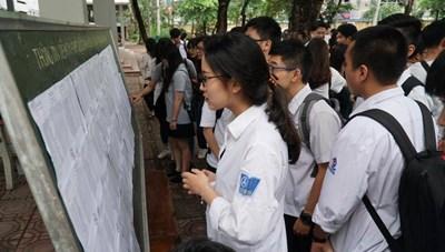 Tuyển sinh lớp 10 ở Hà Nội: Lưu ý số lượng và chất lượng thí sinh