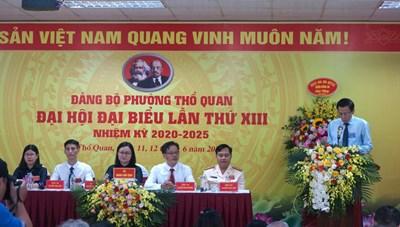 Quyết tâm xây dựng phường Thổ Quan giàu đẹp, văn minh