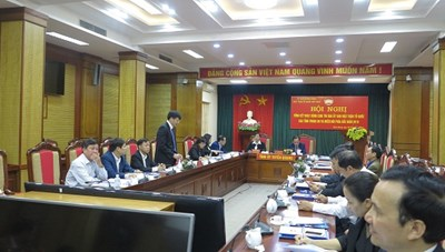 Phú Thọ: Giao ban công tác Mặt trận 6 tháng đầu năm 2020
