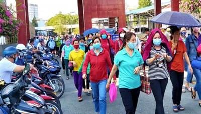 TP Hồ Chí Minh: Hơn 2.000 người mất việc đột xuất ở Công ty Huê Phong được giới thiệu việc làm mới