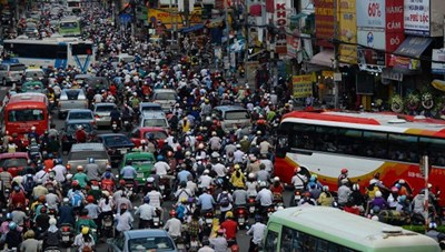 Nan giải nạn ùn tắc giao thông
