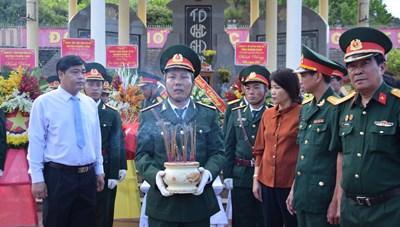 Quảng Nam: Tổ chức Lễ truy điệu và an táng hài cốt 17 liệt sỹ đặc công