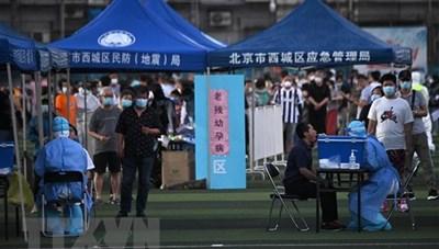 WHO: Bắc Kinh ghi nhận thêm hơn 100 ca mắc mới Covid-19