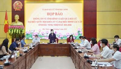 Bắc Ninh: Hơn 99% cử tri đi bỏ phiếu bầu cử