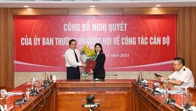 Nữ Phó Tổng Kiểm toán nhà nước đầu tiên mới được bổ nhiệm là ai?