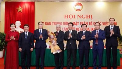 [Infographics] Chủ tịch UBTƯ MTTQ Việt Nam Đỗ Văn Chiến
