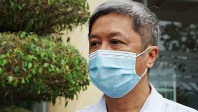 Thứ trưởng Nguyễn Trường Sơn âm tính với SARS-CoV-2