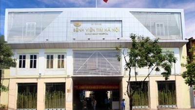 Vi phạm quy định đấu thầu, nhiều cựu lãnh đạo BV Tim Hà Nội bị bắt