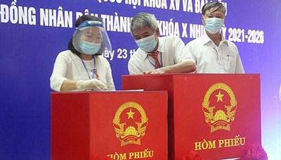 Đà Nẵng: Công bố danh sách 52 người trúng cử đại biểu HĐND TP nhiệm kỳ 2021-2026