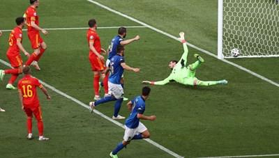 Thắng Xứ Wales: 1-0, Ý nhẹ nhàng vào vòng sau và nhắm đến chức vô địch