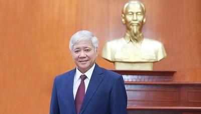 Chủ tịch Đỗ Văn Chiến gửi thư chúc mừng đồng bào Phật giáo Hòa Hảo