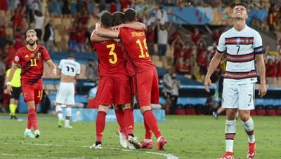 Thua Bỉ 1 bàn, Bồ Đào Nha chính thức trở thành cựu vương