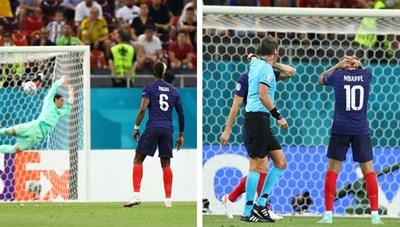 Pháp 3-3 (pen 4-5) Thụy Sĩ: Gà trống gục ngã đầy cay đắng
