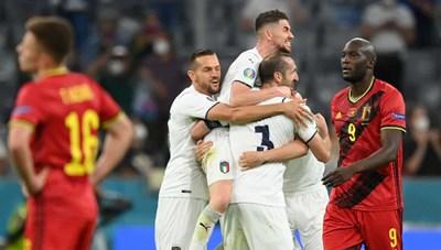 Thua Ý 1-2, 'thế hệ vàng' Bỉ cay đắng rời EURO 2020