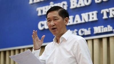 Sau khi bị khởi tố, ông Trần Vĩnh Tuyến bị tạm đình chỉ công tác 90 ngày