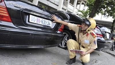 11 trường hợp bị thu hồi đăng ký và biển số xe từ ngày 1/8/2020
