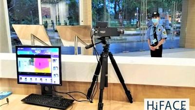 HiFACE++, giải pháp nhận diện, đo thân nhiệt thích ứng trong mùa dịch