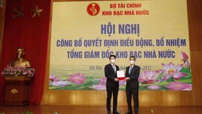 Ông Trần Quân được bổ nhiệm làm Tổng Giám đốc Kho bạc Nhà nước