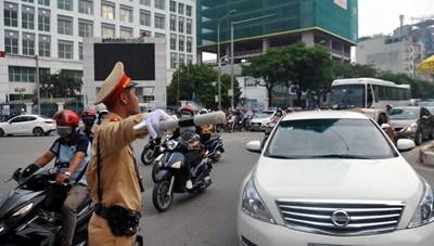 Phân luồng giao thông phục vụ Lễ Quốc tang