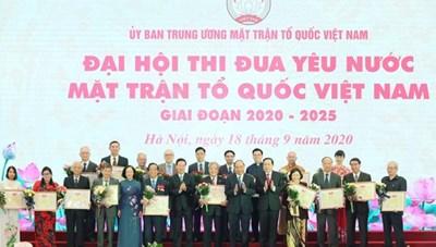 BẢN TIN MẶT TRẬN: Đại hội Thi đua yêu nước MTTQ Việt Nam thành công tốt đẹp