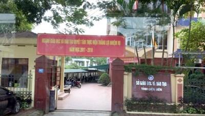 Khởi tố, bắt giam Giám đốc Sở Giáo dục tỉnh Điện Biên