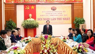 Ông Nguyễn Xuân Ký tái cử Bí thư Tỉnh uỷ Quảng Ninh
