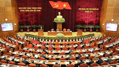 Khai mạc Hội nghị Trung ương 13, bàn công tác nhân sự đại hội