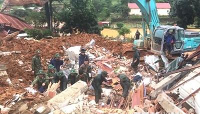 Quảng Trị: Đã tìm được 8 thi thể, đề nghị dùng trực thăng cứu nạn