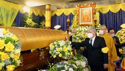 Đoàn UBTƯ MTTQ Việt Nam viếng Đại lão Hòa thượng Thích Phổ Tuệ