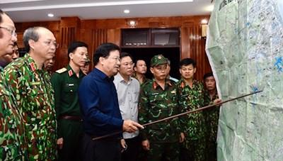 Tìm thấy thi thể 7 nạn nhân bị vùi lấp tại huyện Nam Trà My