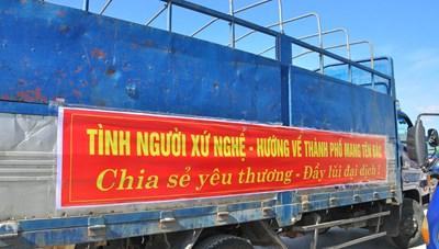 Hơn 350 tấn thực phẩm ủng hộ người dân Thành phố Hồ Chí Minh