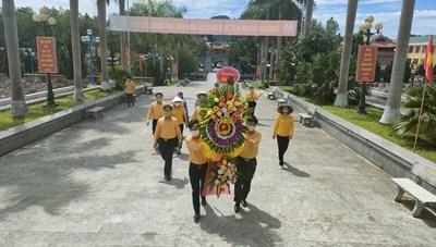 MTTQ tỉnh Nghệ An tri ân các anh hùng liệt sỹ
