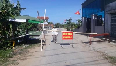 Huyện Quỳnh Lưu cách ly 2 xã theo Chỉ thị 16 vì có 2 ca nhiễm trong cộng đồng