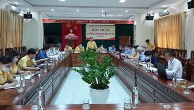 Tổ chức hội thảo tái bản cuốn '90 năm lịch sử Mặt trận tỉnh Nghệ An'